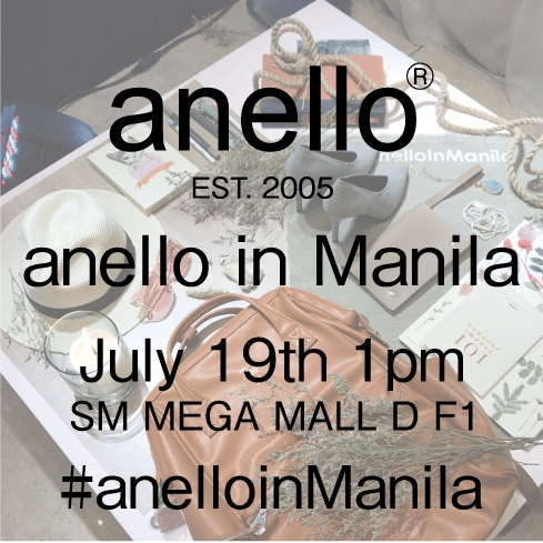Official anello® shop in Philippinesローンチイベント開催