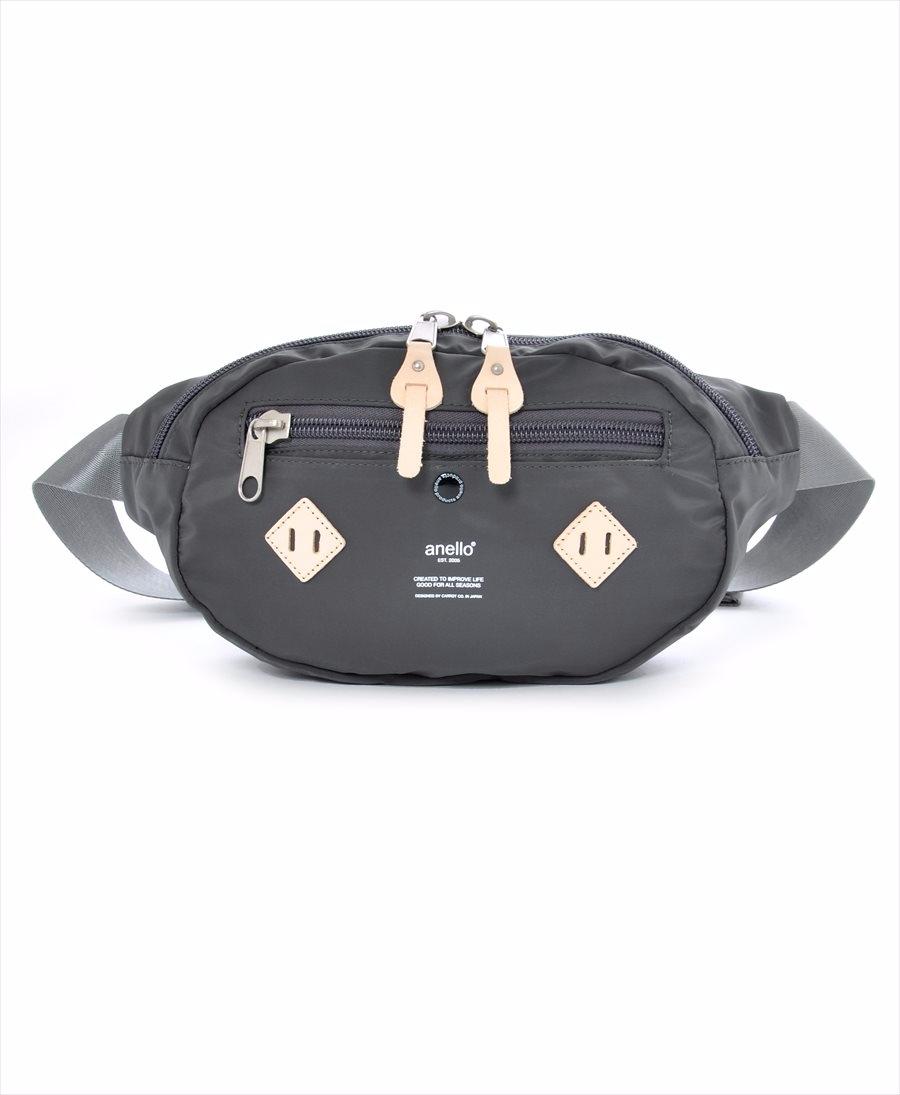 ロゴプリント ウエストバッグ